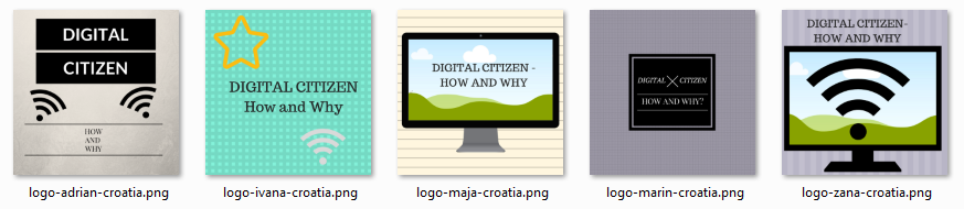 Canva logo eTwinning projekt Digital Citizen - How and Why