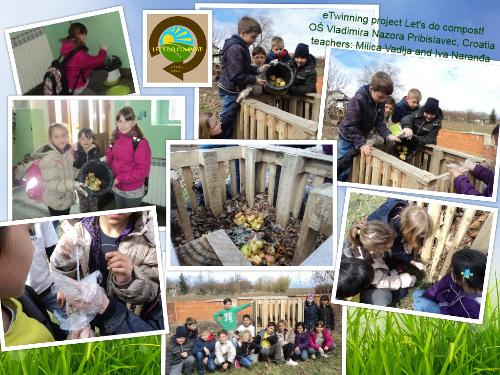 eTwinning project Let's do compost! Pribislavec