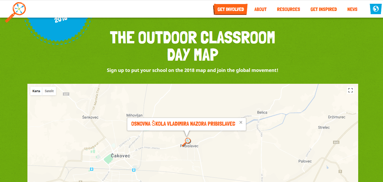 Outdoor Classroom Day - May 2018 - Pribislavec