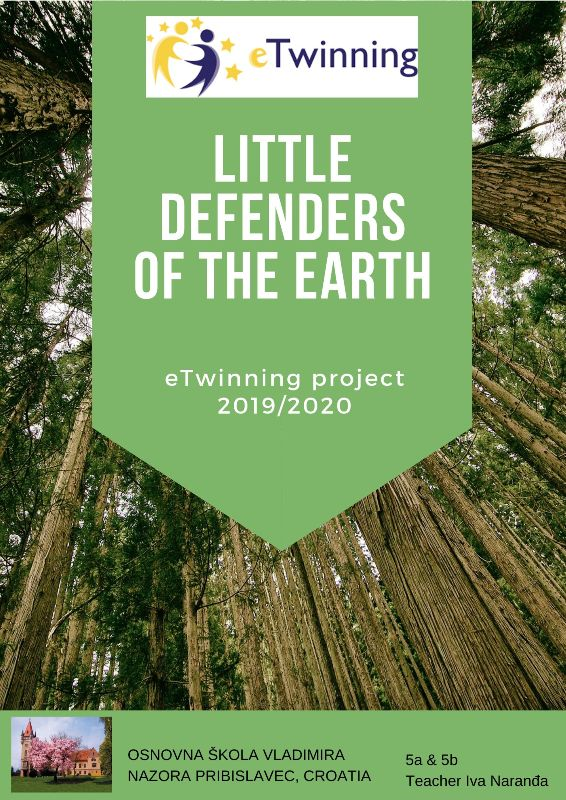 eTwinning projekt Little Defenders of the Earth